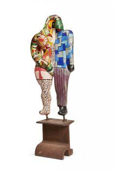 Niki de SAINT PHALLE Adam et Eve ou Le Couple, 1976-1986 -