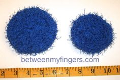 ~ Two sizes of 10 minute scrubby