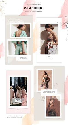 15 Ideas Fashion Magazine Layout Frames For 2019 Instagram Creator, Foto Instagram, Instagram Story Template, Instagram Story Ideas, Instagram Fashion, Instagram Templates, Instagram Design, Frame Instagram, Lookbook Layout