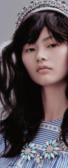 Qian Xu by Liu Song for Vogue China