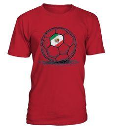 ef489548f5 Vamos Viva Mexico Mexican Flag Design On Soccer Ball T shirt