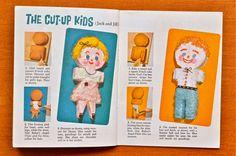 Scissors and Spice: Vintage Cookbooks: Baker's Animal Cut-Up Cakes ...