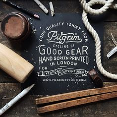 Saved by Jessie Jay Mademann (jessiejaytlp). Discover more of the best Adventure, Handlettering, and Typography inspiration on Designspiration Typography Images, Typography Love, Vintage Typography, Typography Inspiration, Typography Letters, Graphic Design Inspiration, Vintage Logos, Inspiration Wall, Creative Inspiration