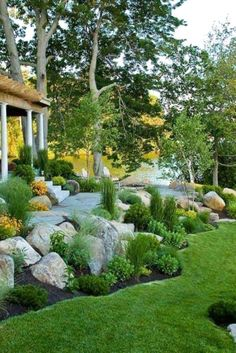 Amazing Rock Garden Design Ideas For Front Yard. Here are the Rock Garden Design Ideas For Front Yard. This post about Rock Garden Design Ideas For Front Yard was posted under the Outdoor category by our team at July 2019 at am. Hope you enjoy it . Landscaping Along Fence, Landscaping With Rocks, Backyard Landscaping, Landscaping Ideas, Backyard Ideas, Patio Ideas, Pool Ideas, Cozy Backyard, Landscaping Tucson