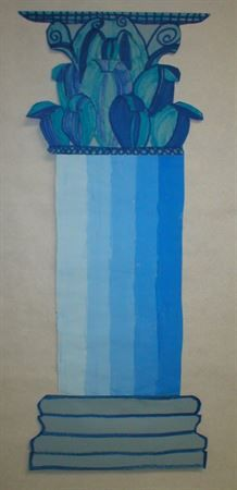 Check out student artwork posted to Artsonia from the Greek columns project gallery at Castlio.