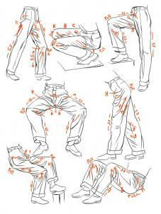 how to draw anime guy clothes designs - Google Search