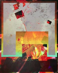 Mark Mehaffey, Pentimento Transitions, acrylic, 60 x 48.