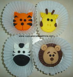 Jungle Toppers Cake and Cupcakes