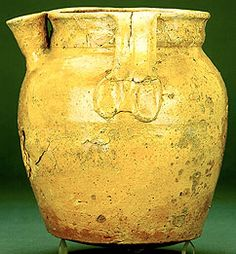 Ashmolean Museum has pottery overview that includes this Stamford ware pitcher, 170mm tall, 10th-12th cen.