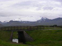 Nice bridge in iceland Iceland, Bridge, Mountains, Nice, Nature, Travel, Destiny, Viajes, Ice Land