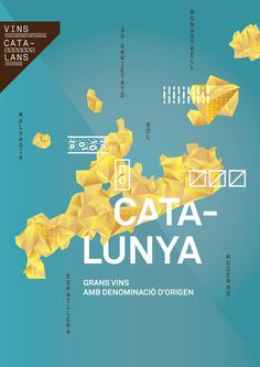 Catalan Wines On The Behance Network - 49804, curated by Christophe on Buamai.