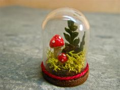 Toadstool Dome - One inch miniature.