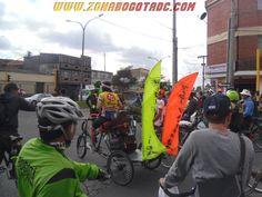 Bicipachanga en el Ciclopaseo Cachaco 2014