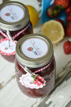 Strawberry Jam + printables