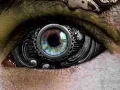 Steampunk World - Taringa! So cool. #contacts #crazycontacts #steampunk