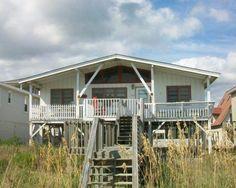 Ocean Isle Beach House Rentals: 405E1 - Oceanfront House rental