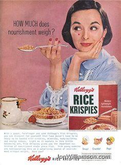 Kellogg's Rice Krispies - 1956
