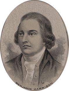 Benjamin Harrison, Virginia House of Burgesses