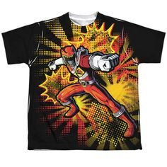 """Checkout our #LicensedGear products FREE SHIPPING + 10% OFF Coupon Code """"Official"""" Power Rangers/red Ranger Burst -s/s Youth Poly T- Shirt - Power Rangers/red Ranger Burst -s/s Youth Poly T- Shirt - Price: $24.99. Buy now at https://officiallylicensedgear.com/power-rangers-red-ranger-burst-s-youth-poly-shirt-licensed"""