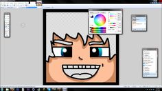 Tutorial: Easy Minecraft Cartoon Heads (Paint.NET) ✔ 100% FREE - YouTube