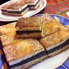 Karácsonyváró tejfölös mákos sütemény Tiramisu, French Toast, Healthy Living, Sandwiches, Deserts, Goodies, Food And Drink, Yummy Food, Sweets