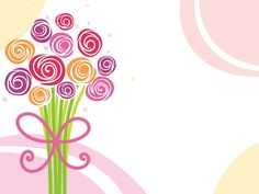 23 Best Flowers Ppt Backgrounds Images Flowers Templates