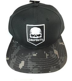 BRAND NEW INFINITE WARFARE SKULL PRINTED SNAPBACK CAP OFFICIAL CALL OF DUTY