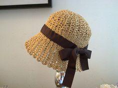 Ravelry: barbaramattioli's Raffia baby hat 2