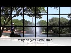 National Student Exchange: Come to USC! - YouTube