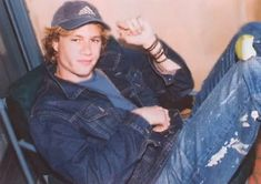 Young Heath Ledger