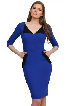 Chevy Sleeved Pencil Dress