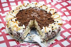 Tropical Ice Cream Cake