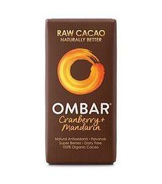 Σοκολάτα Ωμή με Κράνμπερρυ & Μανταρίνι - 35g Organic Chocolate, Raw Chocolate, Coconut Palm Tree, Raw Cacao, Coconut Sugar, Blueberry, Dairy Free, Berries, Palm Sugar
