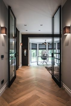 home accents walls Houten vloer groot model visgra - New Interior Design, Interior Decorating, Decorating Ideas, Decor Ideas, Style At Home, Wooden Flooring, Home Fashion, Home Accents, Home Remodeling