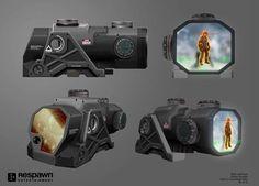 ArtStation - Titanfall 2 Optics, Attachments, Melee, ETC, Ryan Lastimosa