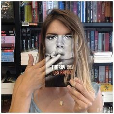 Optical illusions with the replacement of the face with the book cover ( 10+ pictures ),  ,  #books #cover #WOW