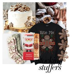 """""""#PolyPresents: Stocking Stuffers"""" by purplicious ❤ liked on Polyvore featuring American Eagle Outfitters, sugarfina, contestentry and polyPresents"""