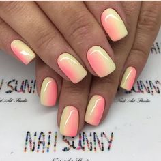 Want some ideas for wedding nail polish designs? This article is a collection of our favorite nail polish designs for your special day. Manicure Nail Designs, Nail Manicure, Nails Design, Summer Acrylic Nails, Best Acrylic Nails, Summer Nails, Summer Vacation Nails, Neon Nails, My Nails
