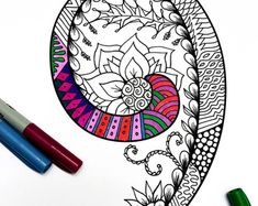 Ampersand & Zentangle Inspired by the font