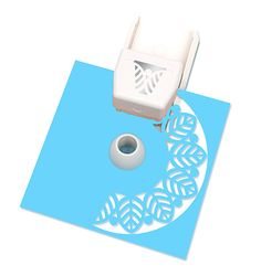 Martha Stewart Crafts - Circle Edge Punch Cartridge - Rounded Leaf at Scrapbook.com
