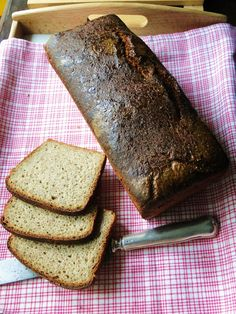 Chleb zytni na maslance