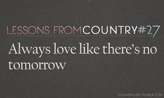 Countryyyy.