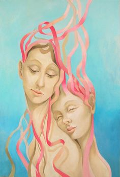 """""""Just love"""" oil painting by Izabela Krzyszkowska from Poland.For sale belasek@interia.pl"""