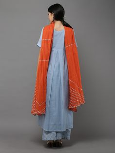 Size Chart - These are body measurements Length of kurta is 48 inches, Length of palazzo is 38 inches, Dupatta's length : 2.4m and width : 42inches XS - Chest