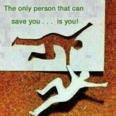 no one can save you when you fallin' down