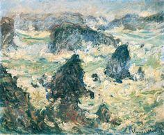 Storm on the Cote de Belle-Ile, 1886 Claude Monet