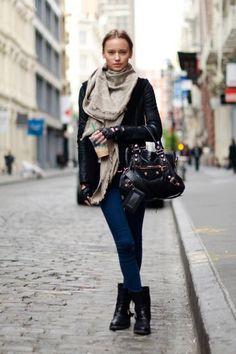 New York _ Winter street