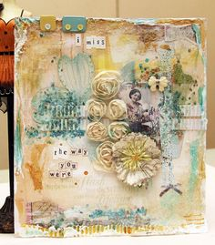 (Art Journal Page #2. For OUAS GDT).....I love!