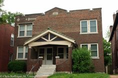 South on Compton Avenue #1: Tower Grove East South of Arsenal – St Louis Patina