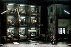 Thierry Escaich's opera Claude (after Claude Gueux by Victor Hugo) staged by Opéra de Lyon in 2013. Production by Olivier Py. Sets by Pierre-André Weitz.
